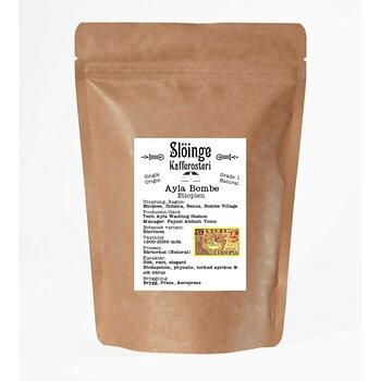 Slöinge kafferosteri - Ayla Bombe - Etiopien - Ljusrostade hela kaffebönor 250g