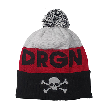 DREGEN - HOCKEY PRIDE CUFFED KNIT HAT WITH POM
