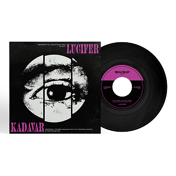 "LUCIFER - KADAVER, SPLIT 7"" VINYL (BLACK)"