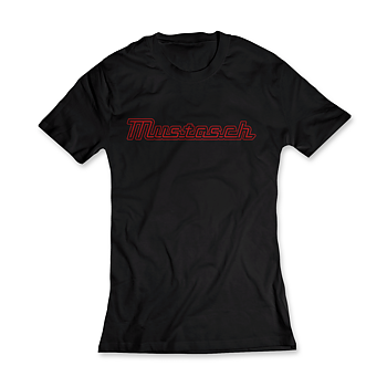 MUSTASCH - GIRLIE RED LOGO