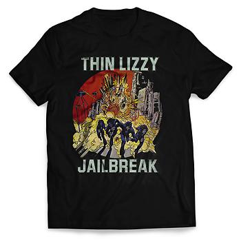 THIN LIZZY - T-SHIRT, JAILBREAK EXPLOSION