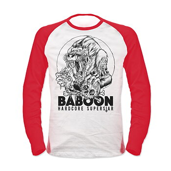 HARDCORE SUPERSTAR - BASEBALL, BABOON