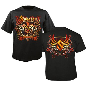 SABATON - T-SHIRT, COAT OF ARMS