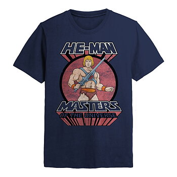 MASTERS OF THE UNIVERSE - T-SHIRT, HE-MAN SWORD
