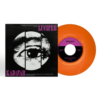 "LUCIFER - KADAVER, SPLIT 7"" VINYL (ORANGE)"