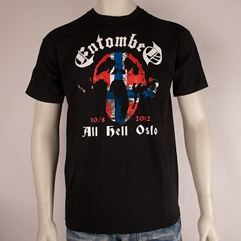 ENTOMBED - T-SHIRT, ALL HELL OSLO