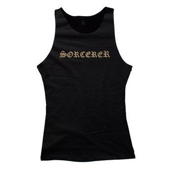Sorcerer - Lady Top, Gold Logo