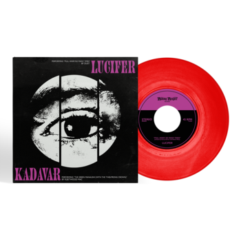 "LUCIFER - KADAVER, SPLIT 7"" VINYL (RED)"