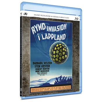 RYMDINVASION I LAPPLAND (BLURAY)