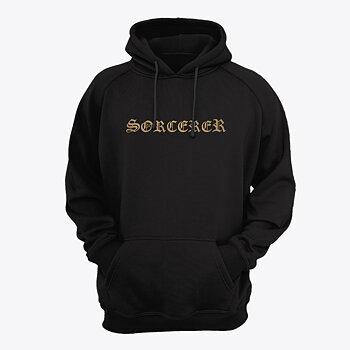 Sorcerer - Hoodie, Gold Logo