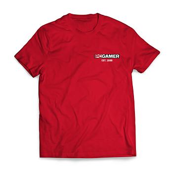 PC Gamer Est. 1996 – T-shirt herr (Röd)