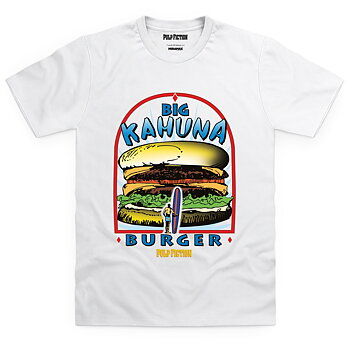 PULP FICTION - T-SHIRT, PULP FICTION BIG KAHUNA