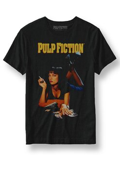 PULP FICTION - T-SHIRT, UMA CLASSIC POSTER