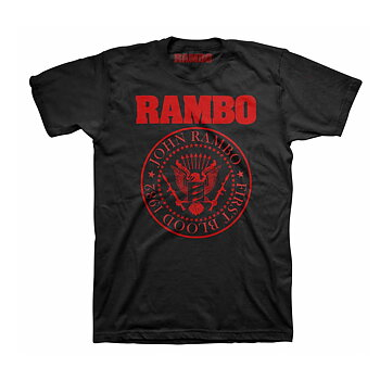 RAMBO, THE - T-SHIRT, RED SEAL
