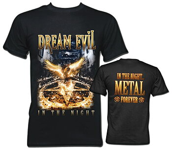 Dream Evil - T-shirt, In The Night
