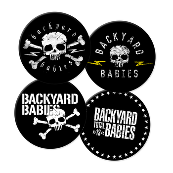 BACKYARD BABIES - COASTERS 4-PACK