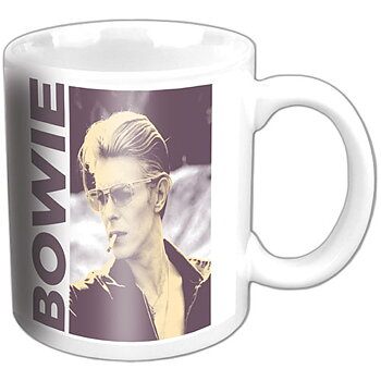 DAVID BOWIE - MUGG, SMOKING