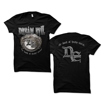 Dream Evil - T-shirt, The Book Of Heavy Metal