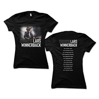 LARS WINNERBÄCK - T-SHIRT DAM, TURNÉ 2019