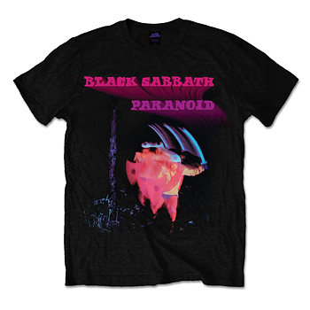 BLACK SABBATH - T-SHIRT, PARANOID MOTION TRAIL