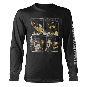 SYSTEM OF A DOWN - LONG SLEEVE, FACE BOXES