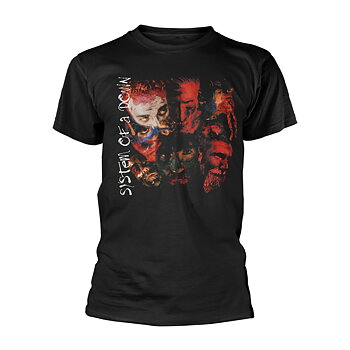 SYSTEM OF A DOWN - T-SHIRT, PAINTED FACES