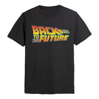 BACK TO THE FUTURE - T-SHIRT, BACK TO THE FUTURE LOGO