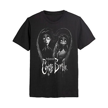 CORPSE BRIDE - T-SHIRT, BRIDE AND GROOM