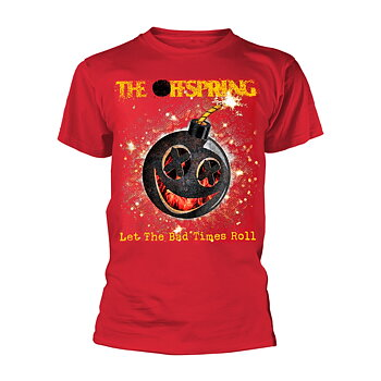 THE OFFSPRING - T-SHIRT, HOT SAUCE (BAD TIMES)