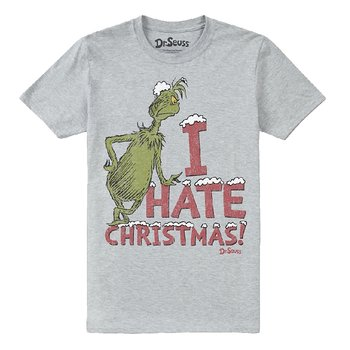 GRINCH, THE - T-SHIRT, I HATE XMAS