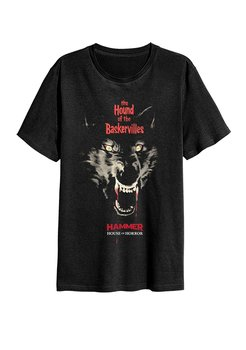 HAMMER HORROR - T-SHIRT, HOUND OF THE BASKERVILLES