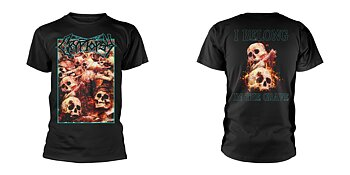 CRYPTOPSY - T-SHIRT, I BELONG IN THE GRAVE