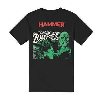 HAMMER HORROR - T-SHIRT, THE PLAGUE OF THE ZOMBIES