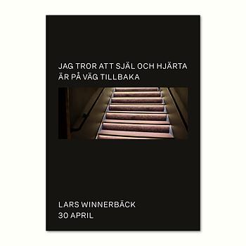 LARS WINNERBÄCK - POSTER, SJÄL OCH HJÄRTA