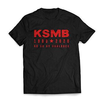 KSMB - T-SHIRT, 40 ÅR AV VRÅLROCK
