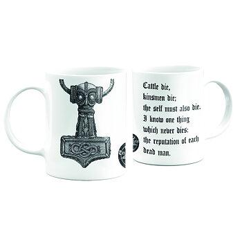 True Metal Brand - Mugg, Thor's Hammer - Havamal