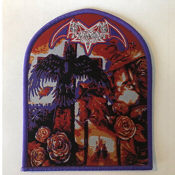 Tiamat - Clouds patch (purple edge)