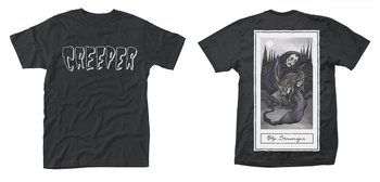 CREEPER - T-SHIRT, DEATH CARD