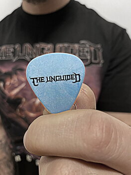 THE UNGUIDED -  GUITAR PICK, CREST