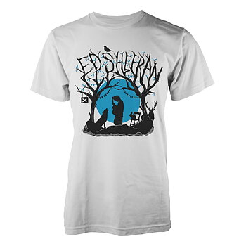 ED SHEERAN - T-SHIRT, WOODLAND GIG