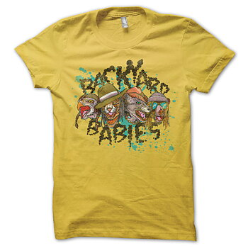 BACKYARD BABIES - T-SHIRT, ANIMALIZE