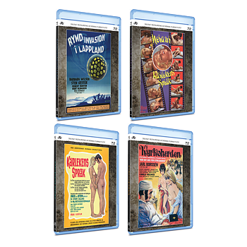 KLUBB SUPER 8 - BLURAY-PAKET (4 FILMER)