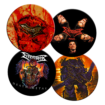 DISMEMBER - COASTERS 4-PACK