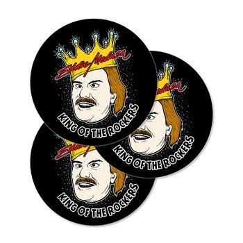 EDDIE MEDUZA - STICKERS, KING OF THE ROCKERS
