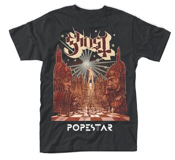 GHOST - T-SHIRT, POPESTAR