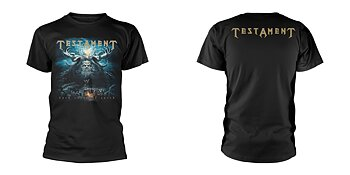TESTAMENT - T-SHIRT, DARK ROOTS OF EARTH