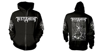 TESTAMENT - ZIP-HOOD, PITCHFORK HORNS