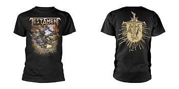 TESTAMENT - T-SHIRT, THE FORMATION OF DAMNATION