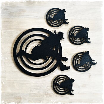 DREGEN - COASTERS & TRIVET BUNDLE