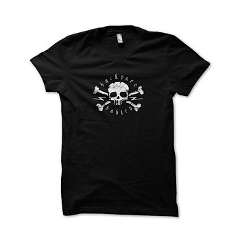 BACKYARD BABIES - BARN T-SHIRT, SKULL -15